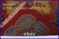 Antique Islamic Art Qajar Signed & Dated Royal Large Persian Carpet 1251 Kashan