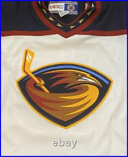 Atlanta Thrashers Dany Heatley 15 Vintage Signed Autograph CCM NHL Hockey Jersey