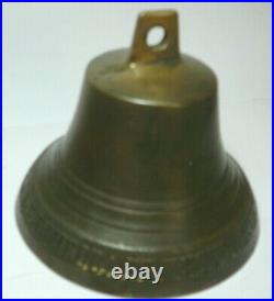 Bell Imperial Russia Novgorod 1890 Copper Signed
