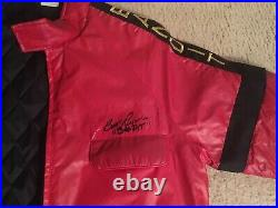 Burt Reynolds Autographed Smokey & The Bandit Watkins Jacket Trans Am Size L