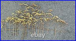 C. Curtis Jere Signed Large- The Elms trees vintage metal sculpture MCM