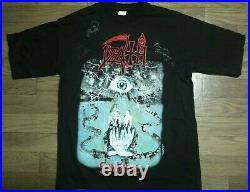 Death Symbolic Vintage Signed Shirt By Members. Chuck Schuldiner Cannibal Corpse
