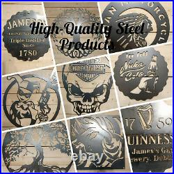 LARGE Slipknot S Metal Sign Hand Finished Wall Art Heavy Metal Music IOWA