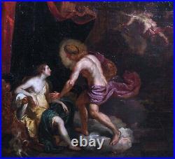 Large 17th Century Dutch Old Master Apollo & Leucothoe Myth by Abraham HONDIUS