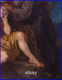 Large 17th Century Dutch The Good Samaritan Lodewyk DE DEYSTER (1656-1711)