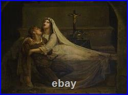 Large 19th Century English The Death Of Romeo & Juliet William SHAKESPEARE