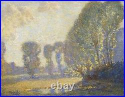 Large 19th Century French Impressionist Landscape Alfred SISLEY (1839-1899)