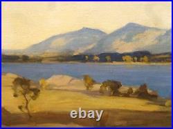 Large 19th Century Scottish Limsore & Mull Landscape by Osmund PITTMAN