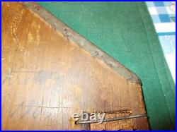 Large Sized Tape Loom With Heart Design Metal On Edges Sq Nailed Dated 1806