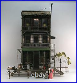 MCM Curtis Jere Family House Room Signed 2 Times Sculpture Large Piece Rare