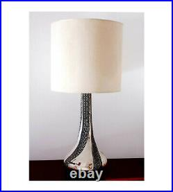 Mid Century Bronze Table Lamp 1960 Sculpture Vintage Large Signed Italian Design