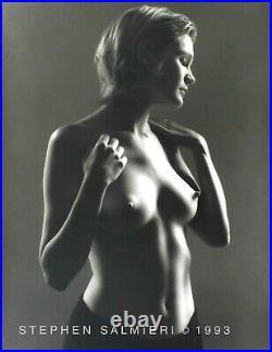 Nude Female Photo 8x10 B&w Vintage Dkrm Print Large Format Signed Orig1993