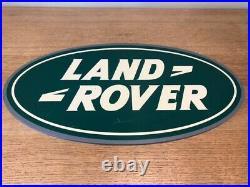 Original LAND ROVER Sign
