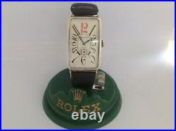 ROLEX, GENTS LARGE SOLID SILVER ART DECO 1920s FULLY SIGNED MOVEMENT CASE & DIAL