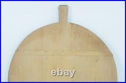 Vintage 21.5 Double Spline Board Large Dough Pastry Bread Primitive Charcuterie