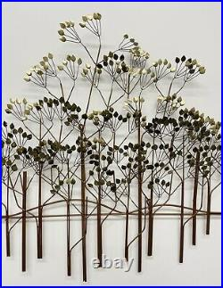 Vintage Curtis Jere The Elms Large Metal Tree Wall Sculpture 54