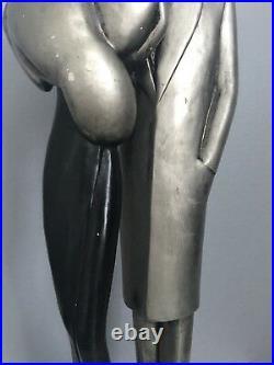 Vintage Large Austin Prod Inc 1986 Sculpture Signed LeClerc 23 tall