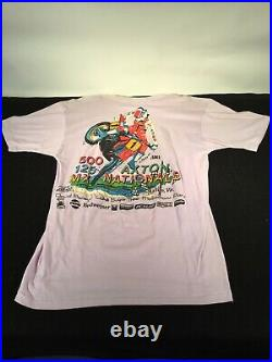Vintage Motocross Autographed T Shirt
